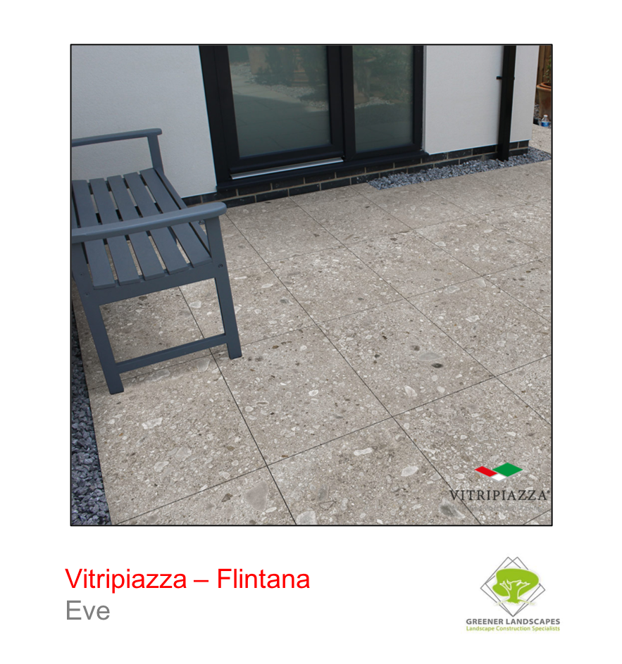 Vitirpiazza Flintana porcelain paving in Eve.