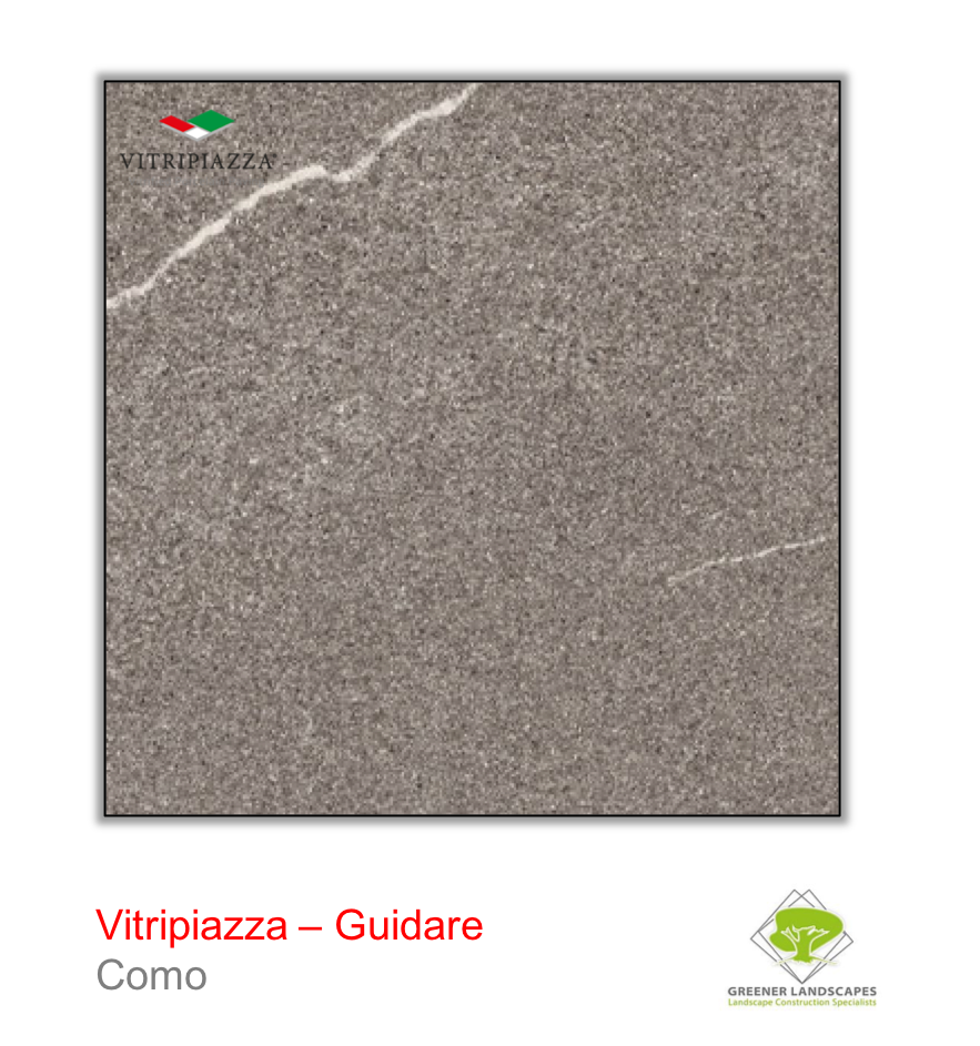 Vitripiazza guidare porcelain driveway tile in Como by talasey group