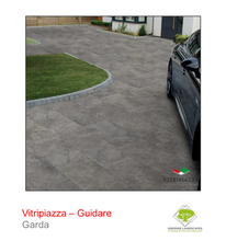 Load image into Gallery viewer, Vitripiazza guidare porcelain driveway tile in Garda by talasey group