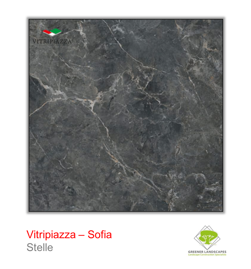 Vitripiazza Sofia Stelle tile by Talasey