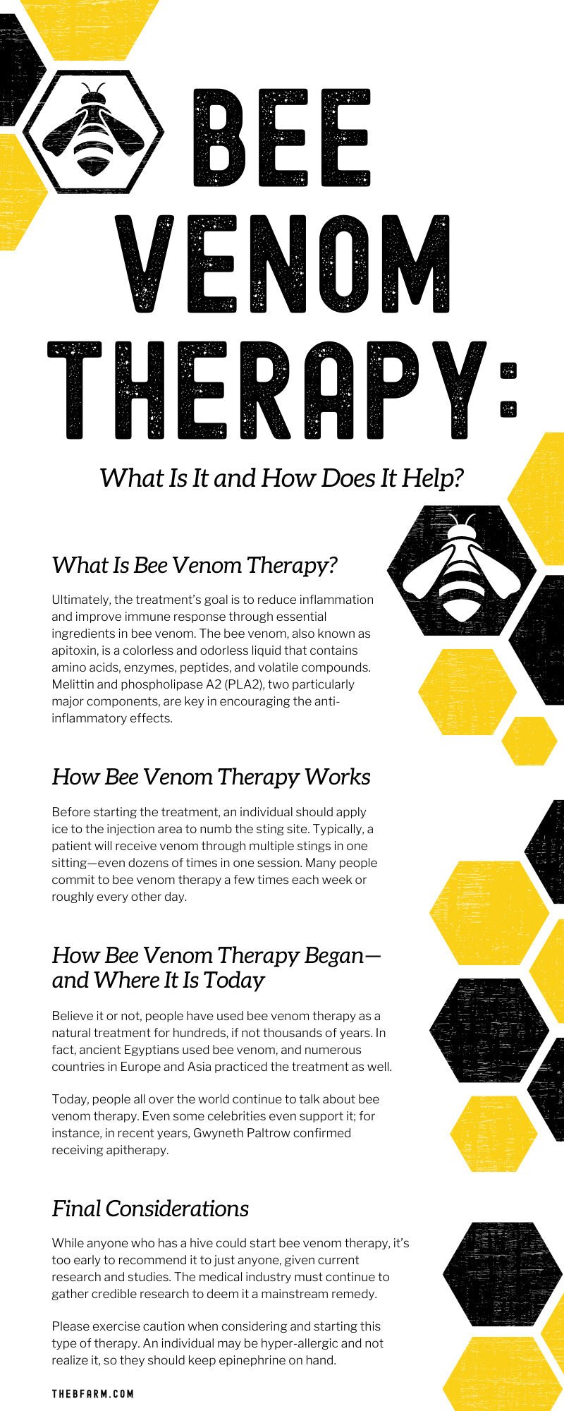 Bee Venom Therapy: What Is It and How Does It Help?
