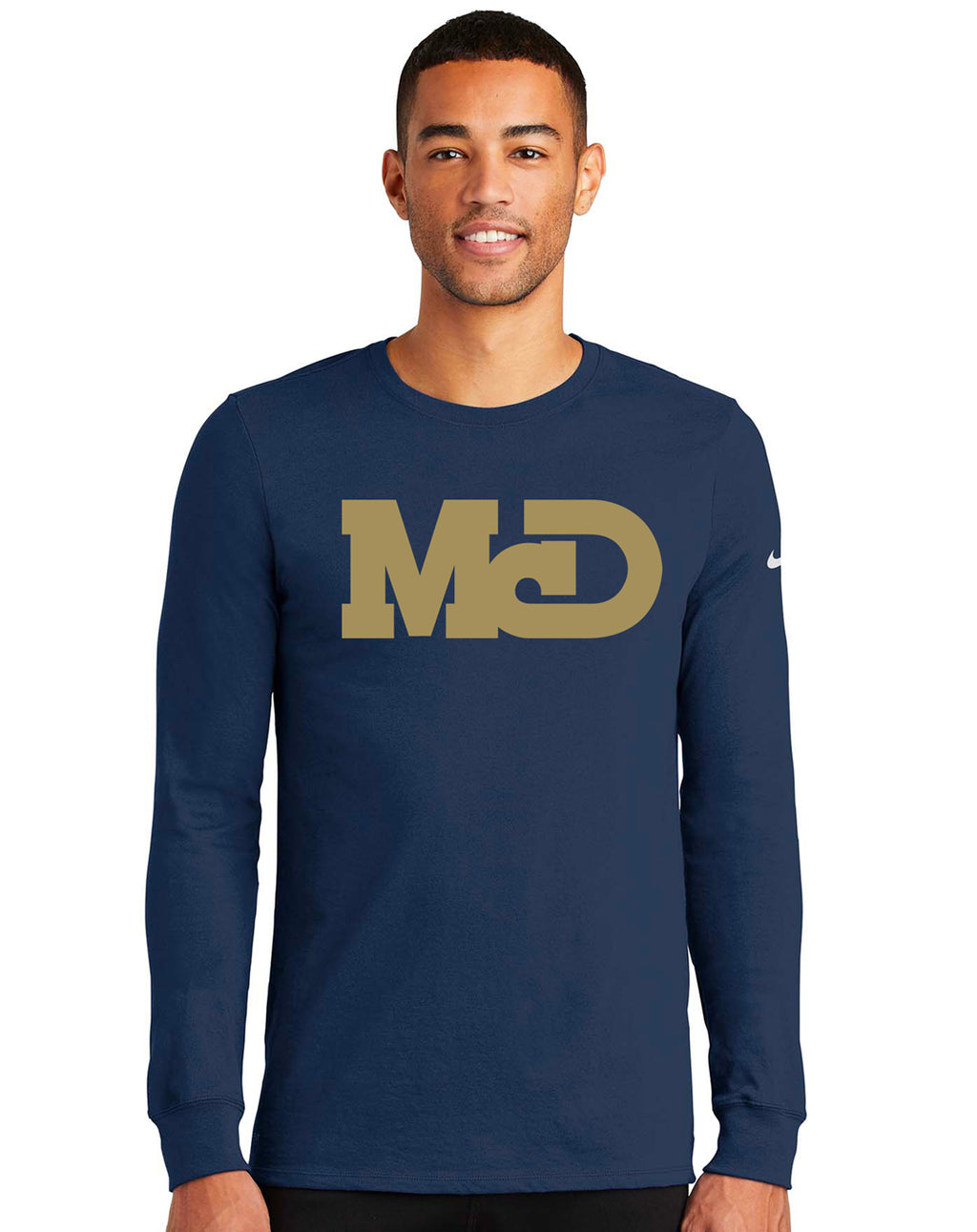 MCD NAVY LONG SLEEVE TSHIRT