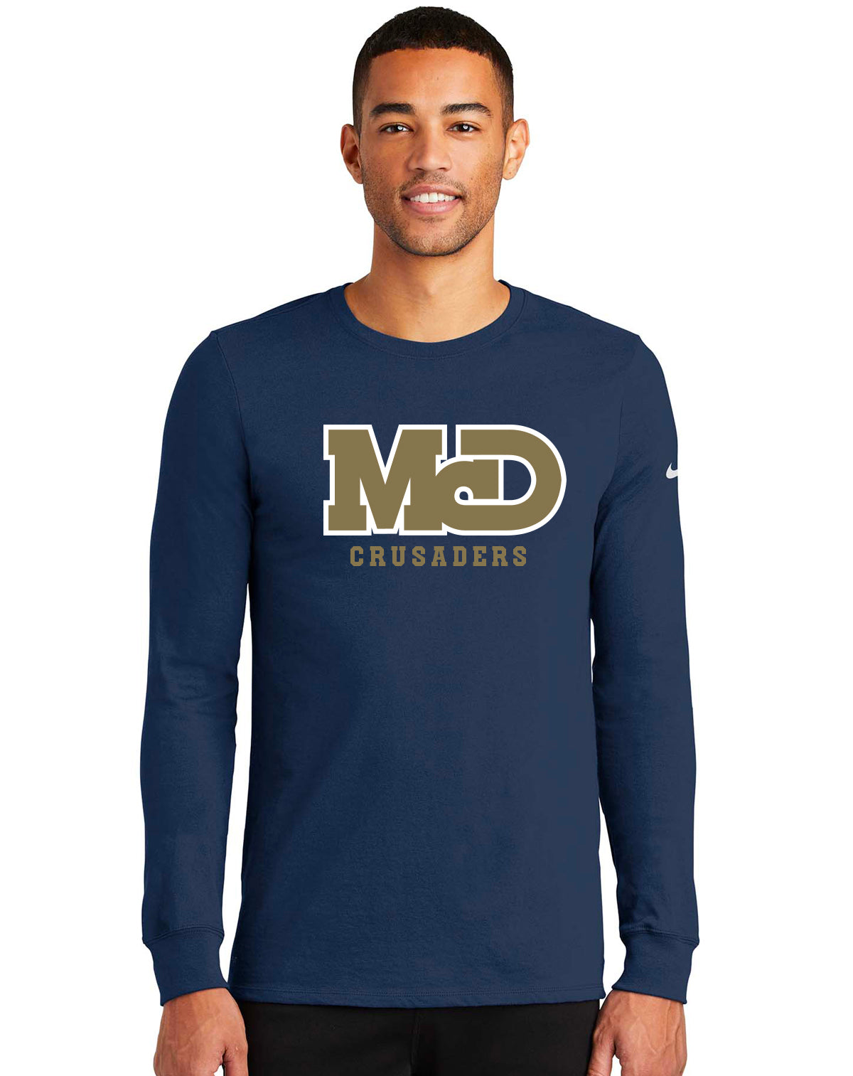 MCD NAVY CRUSADERS LONG SLEEVE TSHIRT