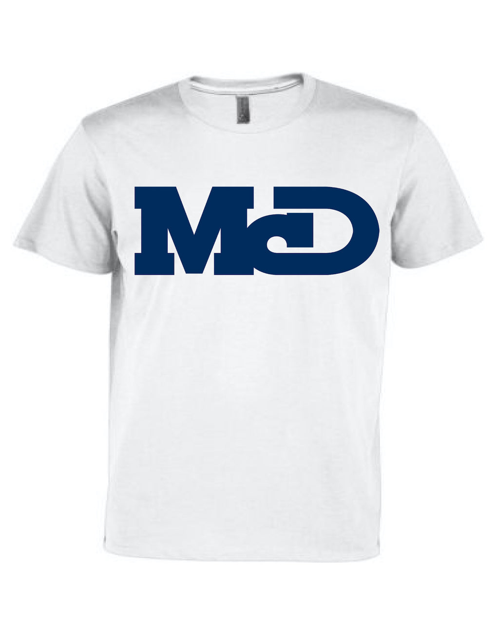 MCD WHITE  SHORT SLEEVE TSHIRT