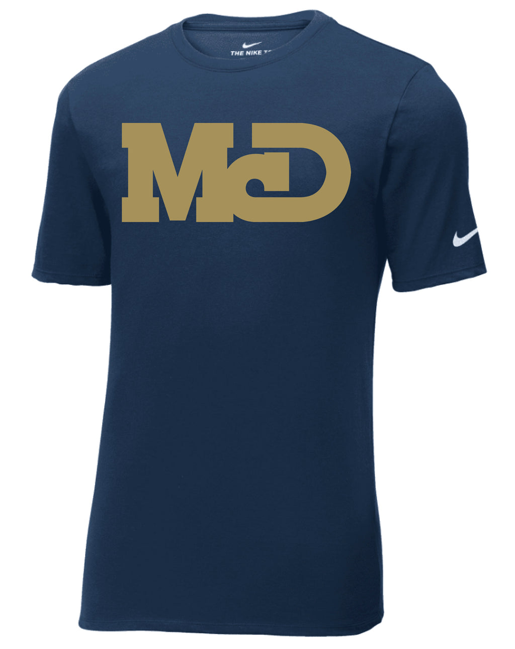 MCD NAVY LOGO SHORT SLEEVE TSHIRT