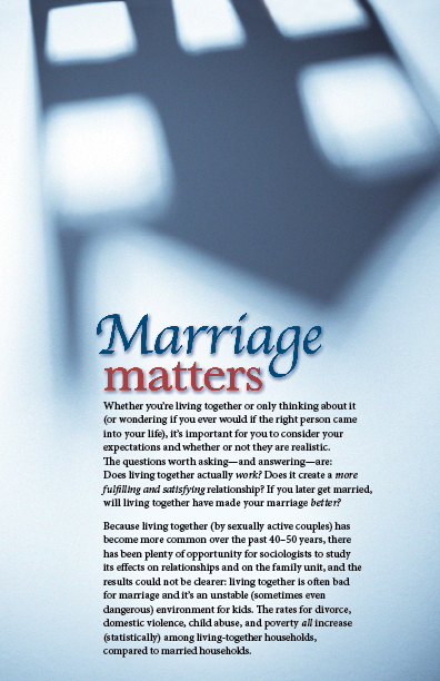 Sift: Marriage Matters