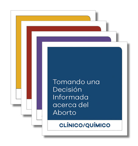 Making an Informed Decision about Abortion: Sample Pack (Spanish)