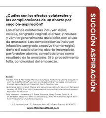 Making an Informed Decision about Abortion: Vacuum Aspiration (Spanish)