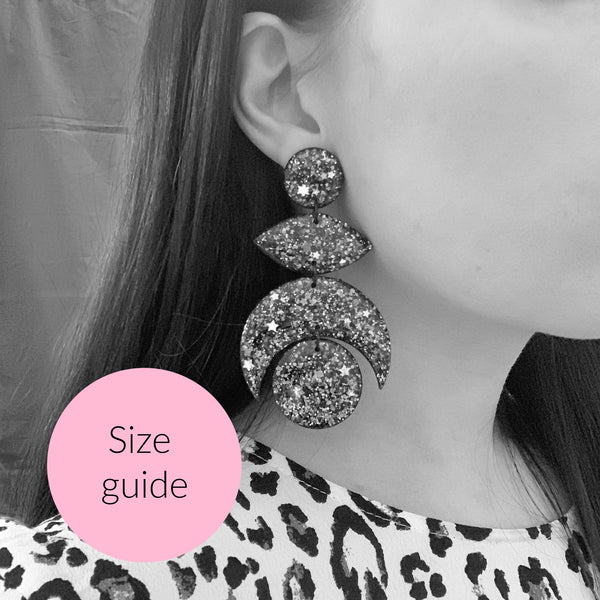 SPARKLE Mega Statement Dangles