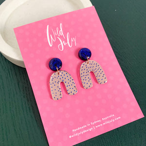 SPOTTY MIRROR Midi Dangles