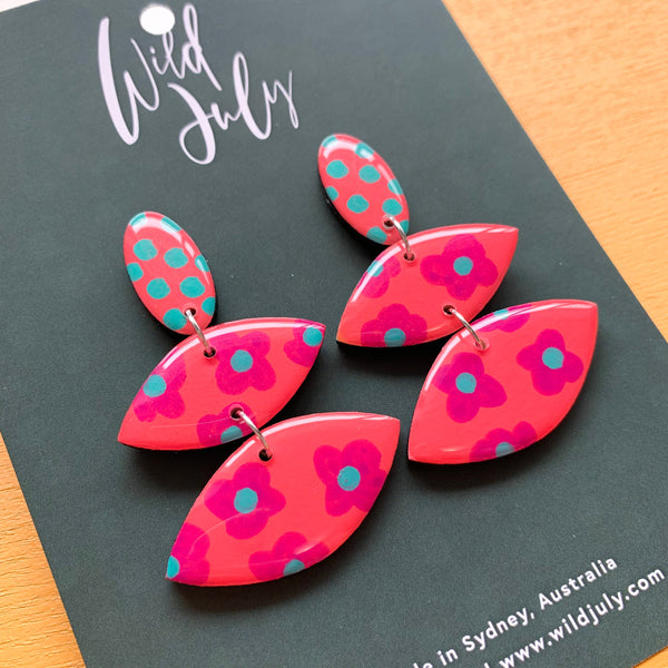 SPOTTY BLOOM Mega Dangles