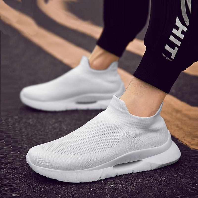 Mesh Slip On Men's Sneakers