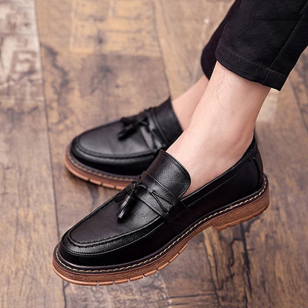 Microfiber Slip On Men's Loafers
