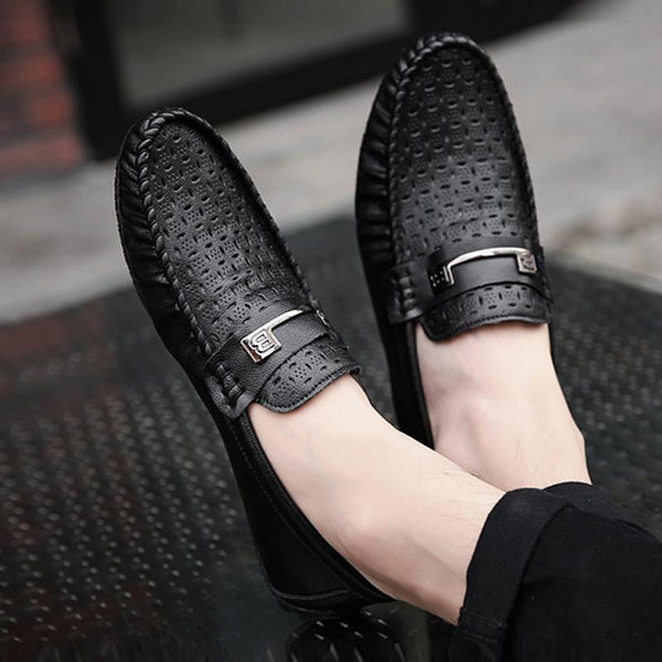 Microfiber Slip-On Men's Loafers