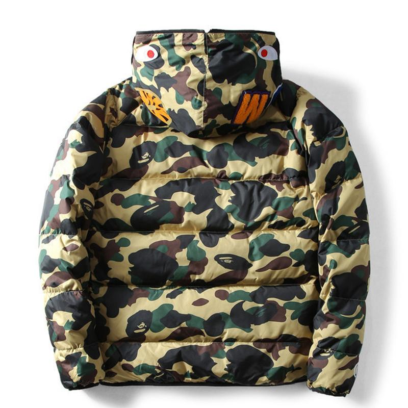 Multi Printed Casual Down Jacket
