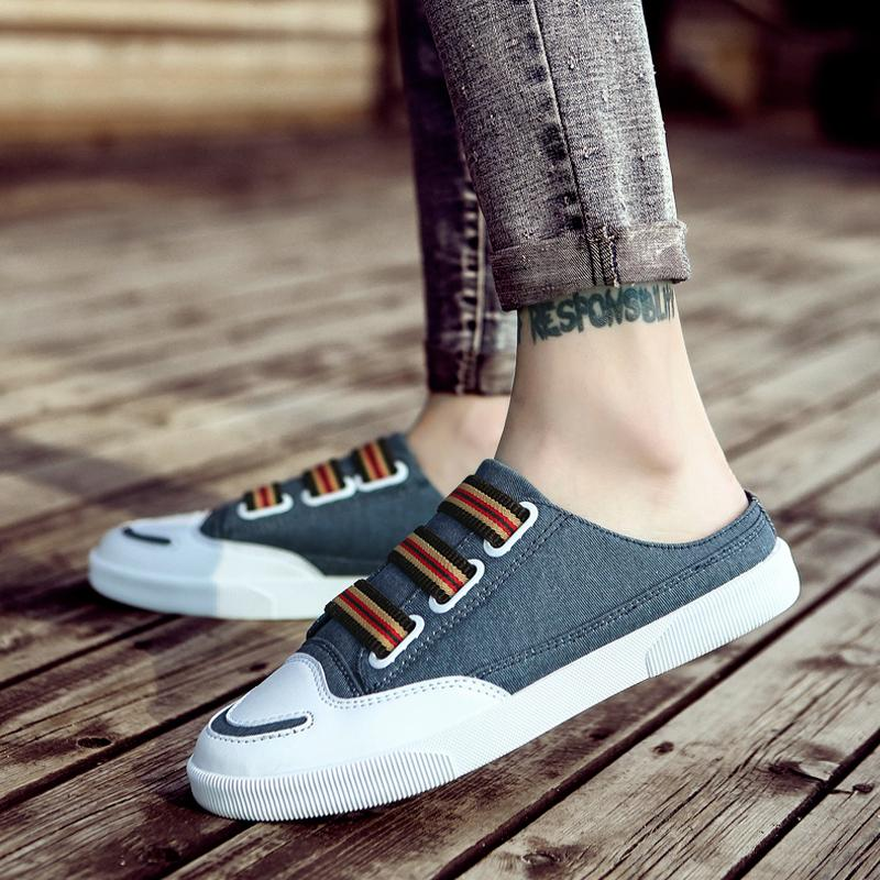 Canvas Slip-On Men's Slippers
