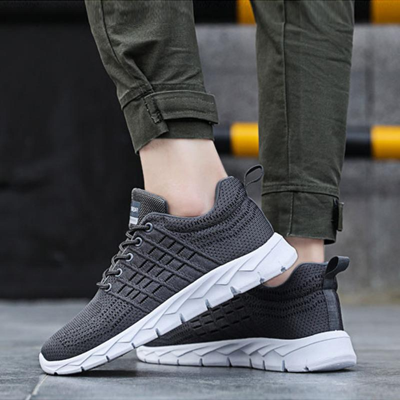 Mesh Lace Up Winter Men's Sneakers
