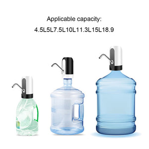 Water Bottle Pump USB Charging  Drinking Water Pump