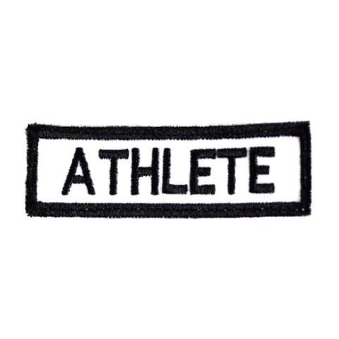 ATHLETE WHITE PATCH
