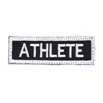 PARCHE ATHLETE NEGRO