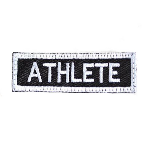 BLACK ATHLETE PATCH