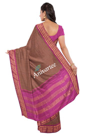 Handloom Gadwal pure cotton saree - Anivartee