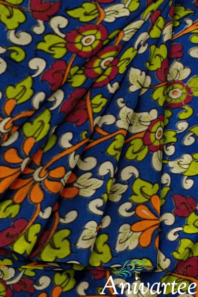 Kalamkari pure cotton fabric - Anivartee