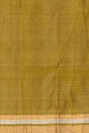 Kanchi soft silk saree  in gold and silver buttas on the body - Anivartee