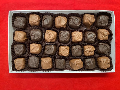 Chocolate Covered Caramels -1 Pound Box