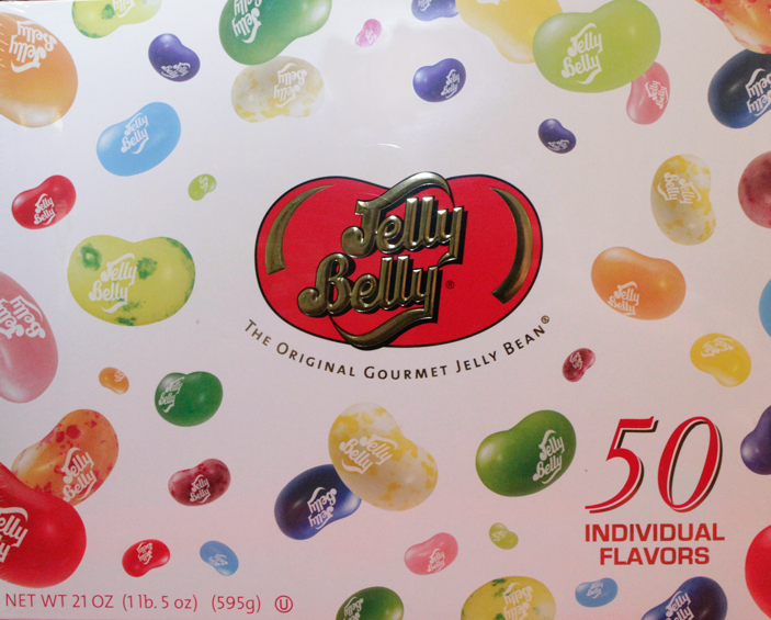 Jelly Bellys 50 Individual Flavors