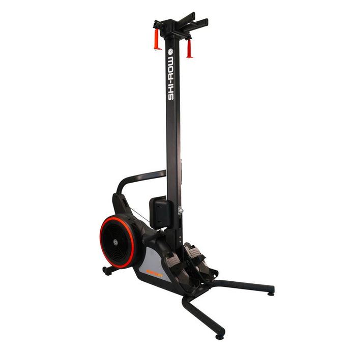 SKI-ROW AIR + POWER ROWING MACHINE