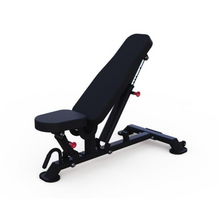 Load image into Gallery viewer, Adjustable Weight Bench: Flat To Incline (Vertical Style) by Muscle D Fitness