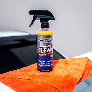 Complete Clean® Rinse-less Wash and Clay Lube w/ Towels