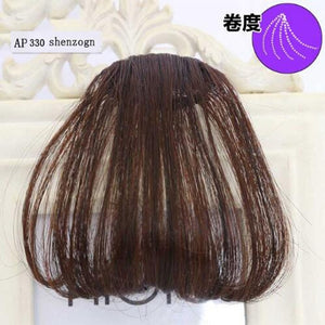 hair extension natural black light brown dark brown black high temperature fiber