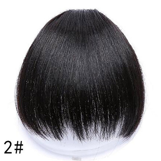 HOUYAN HAIR 6inch 4Color Clip In Hair Bangs Hairpiece Accessories