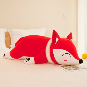 35/50cm Fox Stuffed Animals Soft Toy Doll