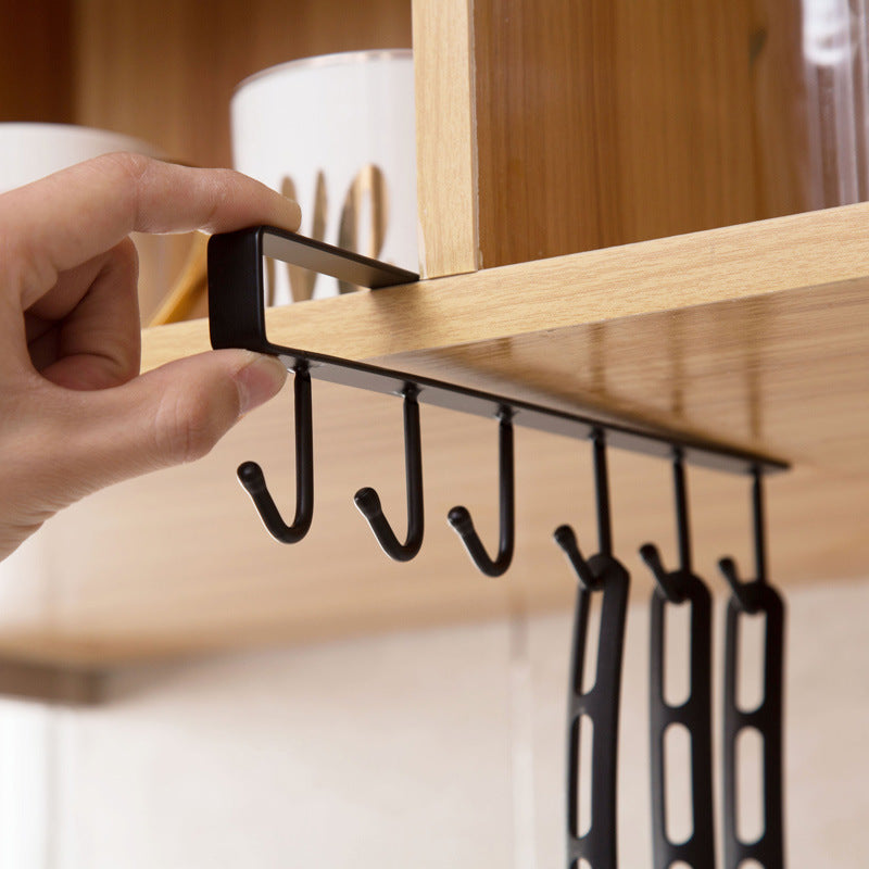 Kitchen Iron Multifunction Hanger - 1 Piece