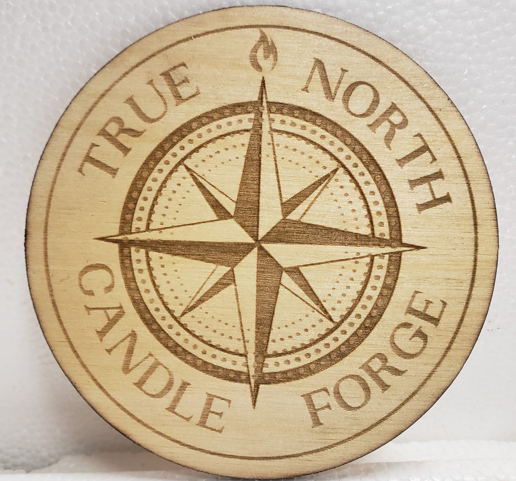 Candle Coaster - True North Candle Forge