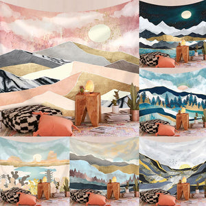 Nordic Ins Background Cloth Art Wall Decoration Cloth Tapestry