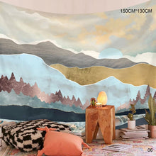 Load image into Gallery viewer, Nordic Ins Background Cloth Art Wall Decoration Cloth Tapestry