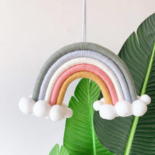 Load image into Gallery viewer, Children's Room Decoration Pendant Cloud Rainbow-Weaving