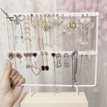 Load image into Gallery viewer, Wrought Iron Creative Earring Jewelry Storage Display Stand