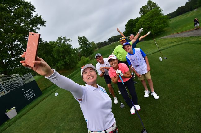 PLAY IN THE LPGA PURE SILK CHAMPIONSHIP PRO-AM