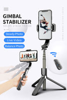 Heavy Duty 3-in-1 Selfie Stick With Stabilizer