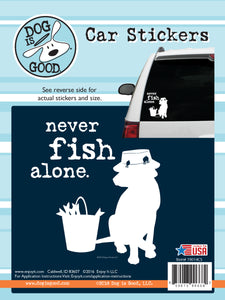 DOG IS GOOD Car sticker (Outdoor)