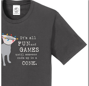 ITS ALL FUN AND GAMES UNISEX