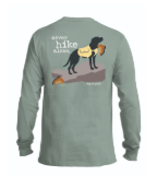NEVER HIKE ALONE UNISEX LONG SLEEVE