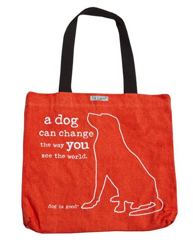 TOTE: A DOG CAN CHANGE THE WAY YOU SEE THE WORLD