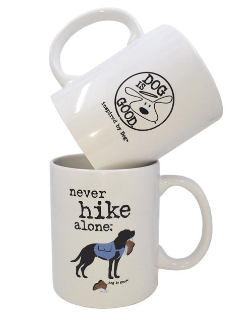 MUG: NEVER HIKE ALONE