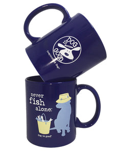 MUG: NEVER FISH ALONE